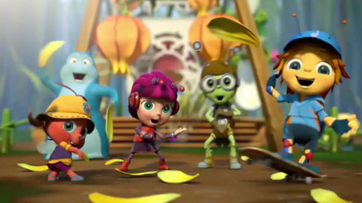 Watch the Beat Bugs